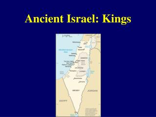 Ancient Israel: Kings