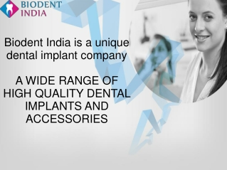 Dental Implants India - Best Dental implants accessories Hyd