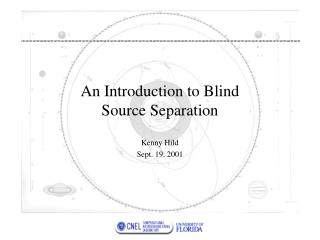 An Introduction to Blind Source Separation