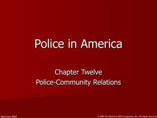Police in America