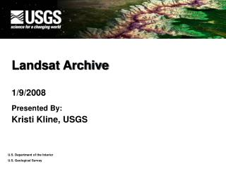 Landsat Archive