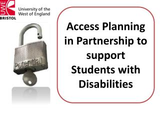 Access Planning in Partnership to support Students with Disabilities