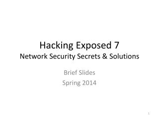Hacking Hardware