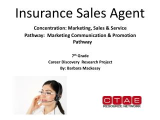 Insurance Sales Agent