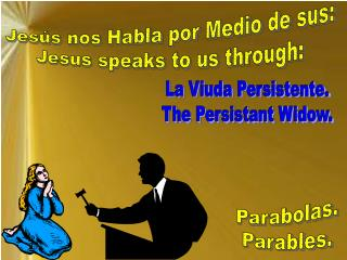 Jes s nos Habla por Medio de sus: Jesus speaks to us through: