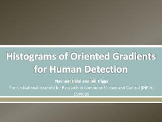 Histograms of Oriented Gradients for Human Detection