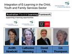 Integration of E-Learning in the Child, Youth and Family Services Sector
