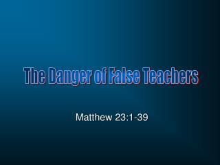 Matthew 23:1-39
