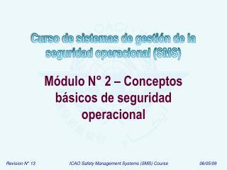 M dulo N  2   Conceptos b sicos de seguridad operacional