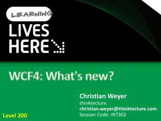 WCF4: Whats new