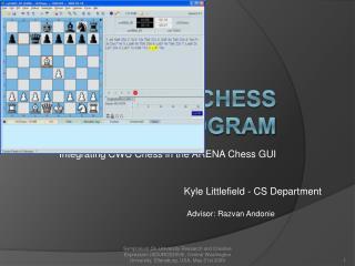 Adaptive Chess Program