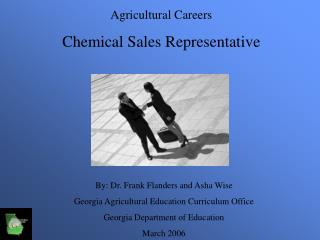 Agricultural Careers Chemical Sales Representative
