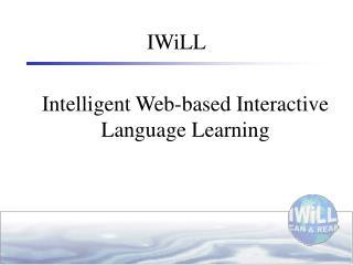 Intelligent Web-based Interactive Language Learning
