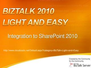 Integration to SharePoint 2010