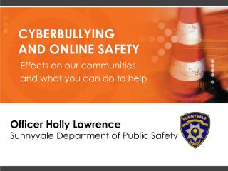 CYBERBULLYING  AND ONLINE SAFETY