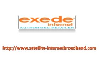 Cheap Satellite Internet