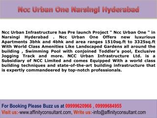 Narsingi New Pre launch Project Hyderabad