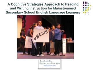 A Cognitive Strategies Approach to Reading and Writing Instruction for Mainstreamed Secondary School English Language Le