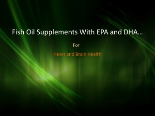 Omega-3 Fish Oil Supplements With Mega-EPA-DHA In West Covin