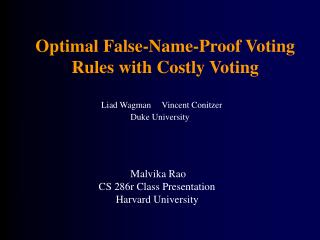 Optimal False-Name-Proof Voting Rules with Costly Voting