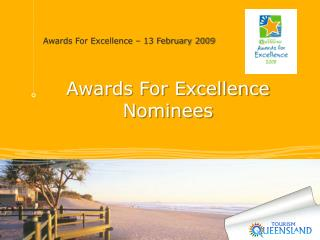 Awards For Excellence Nominees