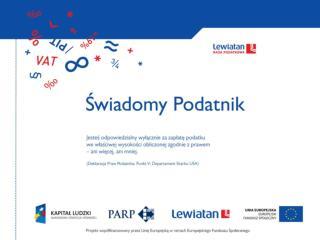 Optymalizacja podatkowa   Jacek Bajson  Wice-przewodniczacy grupy PIT