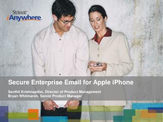 Secure Enterprise Email for Apple iPhone
