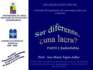 Prof.  Ana Maria Tapia-Adler