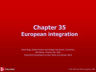 Chapter 35 European integration