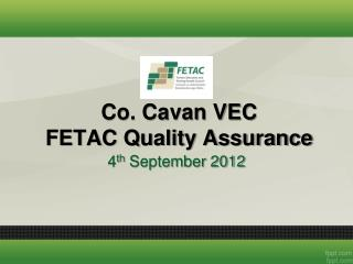 Co. Cavan VEC FETAC Quality Assurance