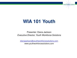 WIA 101 Youth