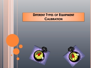Things to Remember Before Calibrating Equipment