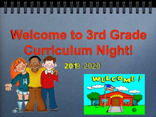 3rd Grade Curriculum
