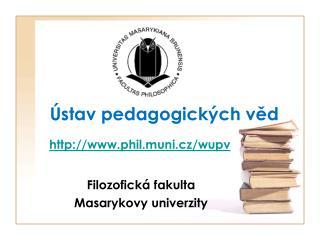 stav pedagogick ch ved