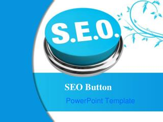 SEO Button PowerPoint Template