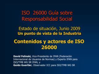 ISO  26000 Gu a sobre Responsabilidad Social