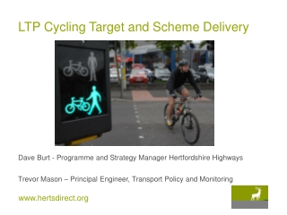 LTP Cycling Target and Scheme Delivery