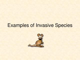 Examples of Invasive Species