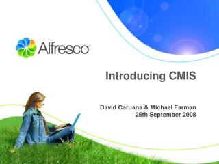 Introducing CMIS