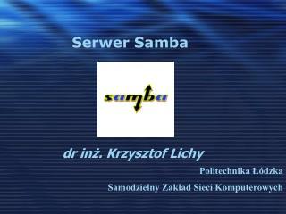 Dr inz. Krzysztof Lichy