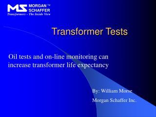 Transformer Tests