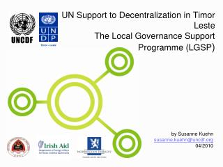 UN Support to Decentralization in Timor Leste