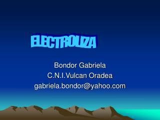 Bondor Gabriela C.N.I.Vulcan Oradea gabriela.bondoryahoo