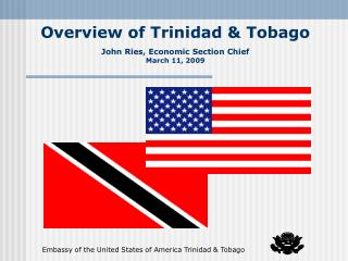 Overview of Trinidad  Tobago