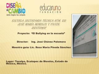 Escuela Secundaria T cnica N m. 132  Jos  Mar a Morelos y Pav n. 15dst0145f