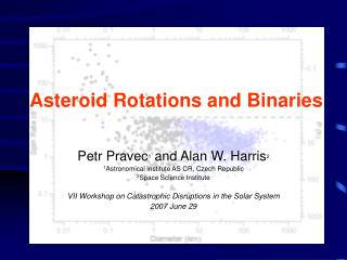 Asteroid Rotations and Binaries