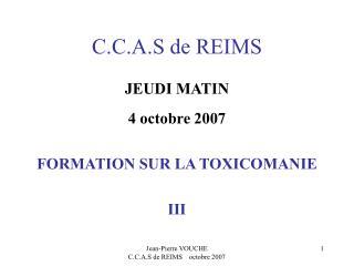 C.C.A.S de REIMS