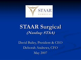 STAAR Surgical  Nasdaq: STAA