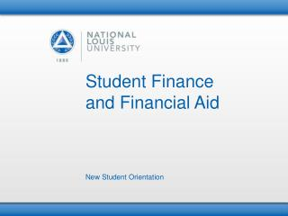 Student Finance  and Financial Aid