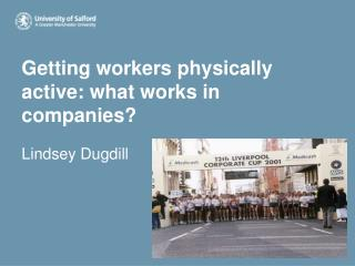 Getting workers physically active: what works in companies